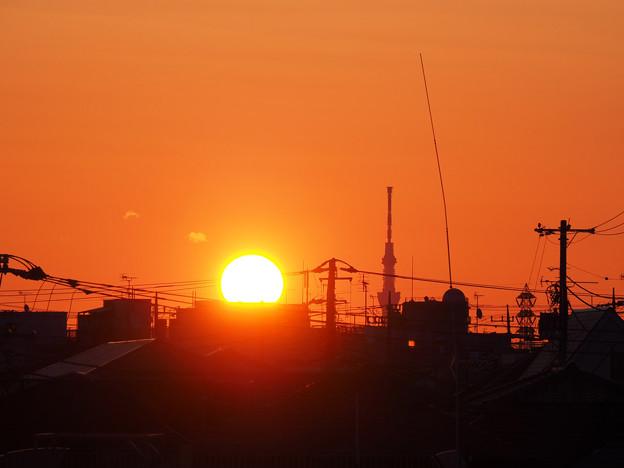 Photos: 3/15の日の出