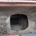 雨樋に溜まった土の除去2