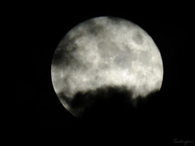 雲隠れの名月