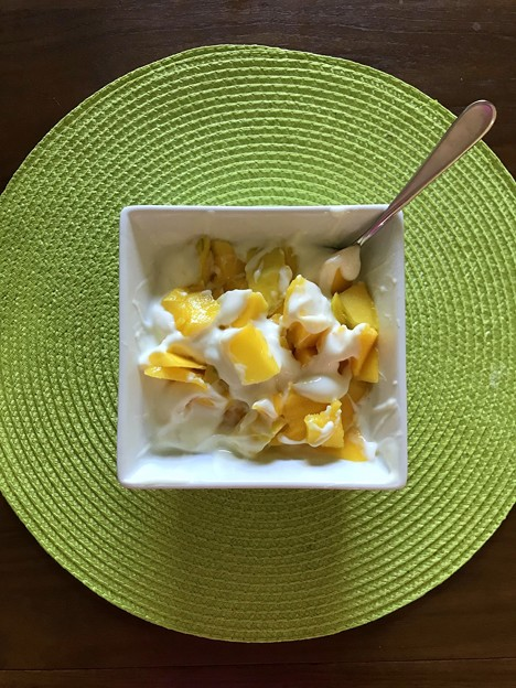 Organic Mango Yogurut 4-22-21