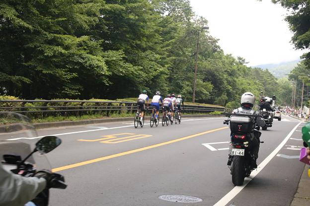 東京オリンピック ロードレース 山中湖平野付近