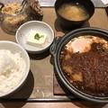 Photos: 味噌カツ煮定食