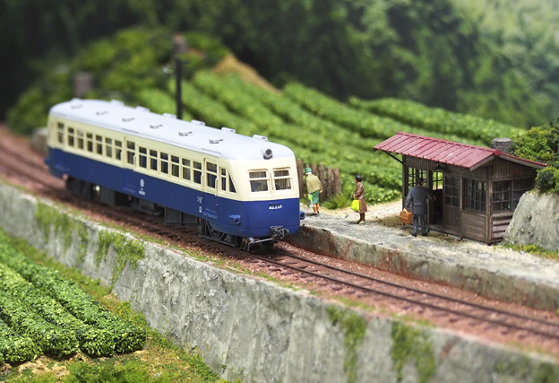 鹿島参宮鉄道のキハ42201