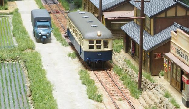 鹿島参宮鉄道のキハ201
