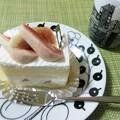 いちじくのショートケーキ。