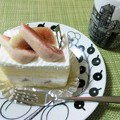 Photos: いちじくのショートケーキ。