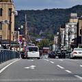 Photos: 2021_0228_134302 四条大橋から東山を望む