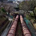 2021_0228_162336 蹴上浄水場への導水管