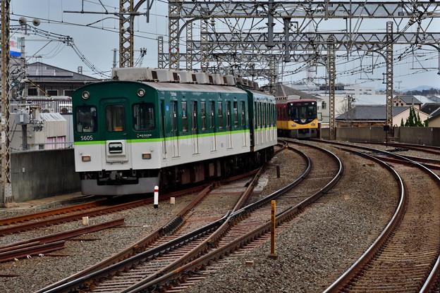 2021_0307_114853 京阪5000系 最後の活躍 5555F