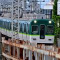 2021_0502_162525 堤防上から見た京阪本線