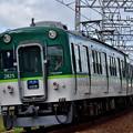 2021_0502_151208 舟橋川堤防に昇っていく上り電車