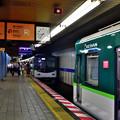 Photos: 2021_0802_083655 電車の縦列駐車
