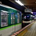 Photos: 2021_0802_083845 電車の縦列駐車