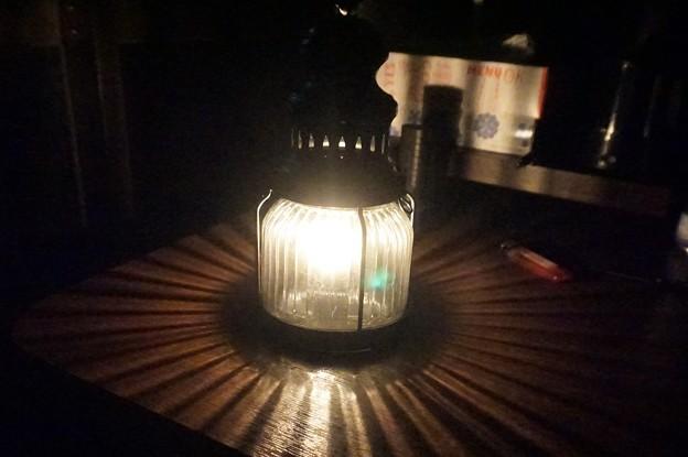 ランタンに灯