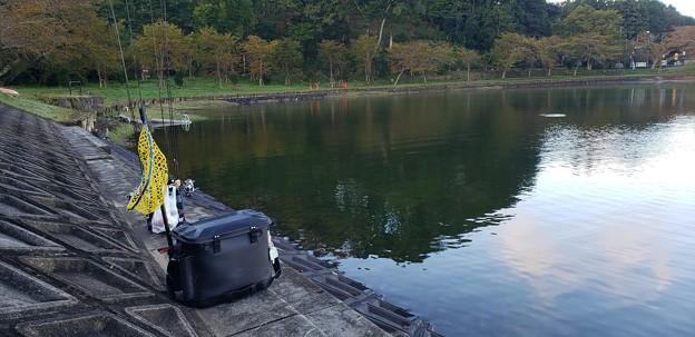 2021年 オープン3日目の東山湖へ
