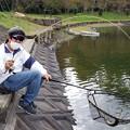 東山湖でトラキン合同自主トレ