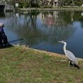 Photos: 釣れますか?1