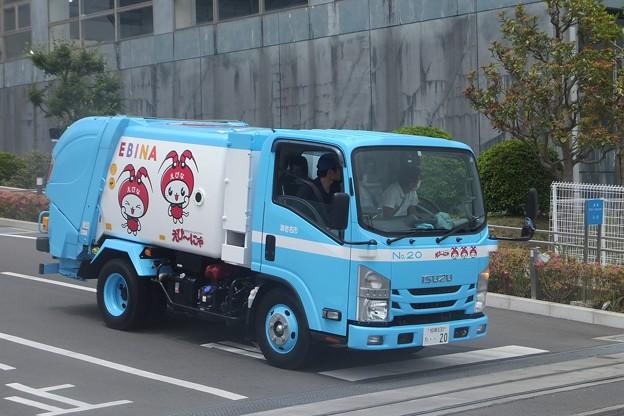 えび~にゃゴミ収集車