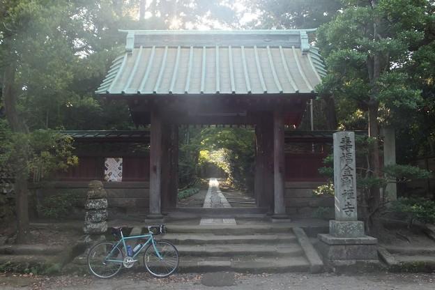 寿福寺山門/参道
