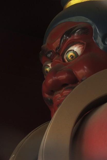 東光寺薬師堂仁王像(吽形)