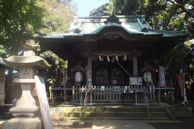 鶴嶺八幡宮拝殿