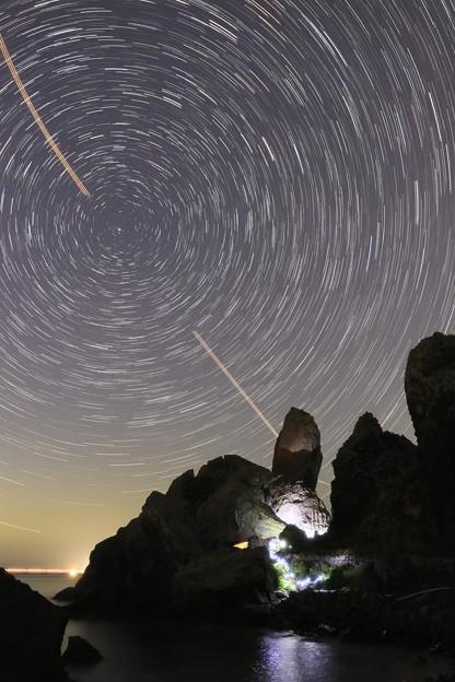 ☆StarStaX_立神岩の怪