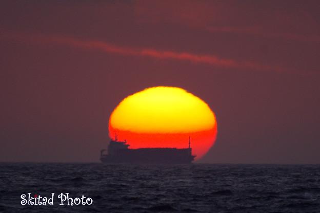 Photos: 日没の時