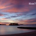 Photos: 海辺の夕景
