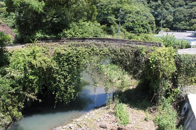 草まみれの石橋三選1