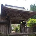 満徳寺山門