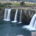 原尻の滝、夕暮れ時3