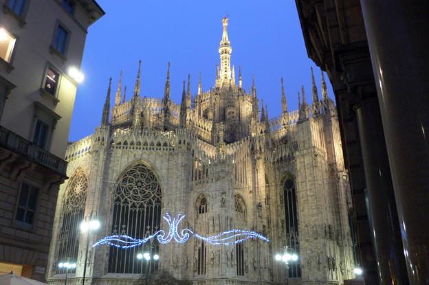 冬のミラノ