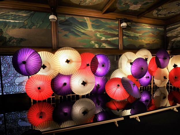和傘アート
