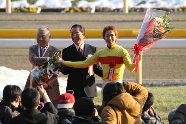 Photos: 第31回 フェブラリーステークス 表彰式(14/02/23)
