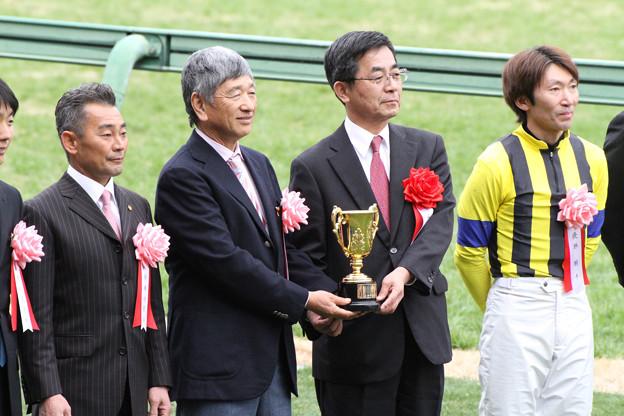 第86回 中山記念 表彰式(12/02/26)