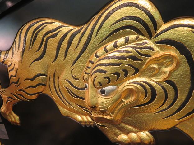 大阪城の虎