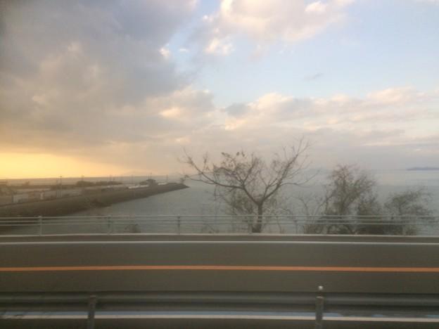 伊予灘の車窓風景1