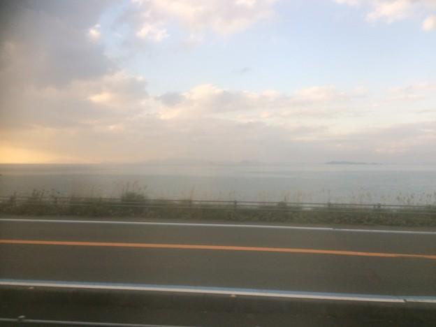 伊予灘の車窓風景2
