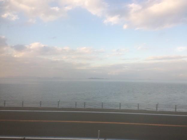 伊予灘の車窓風景3