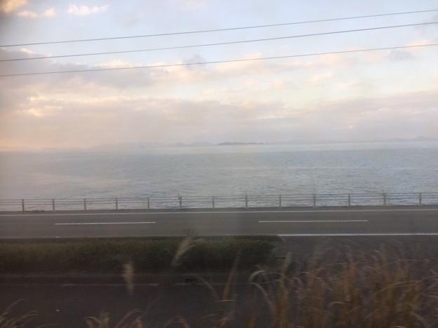 伊予灘の車窓風景4