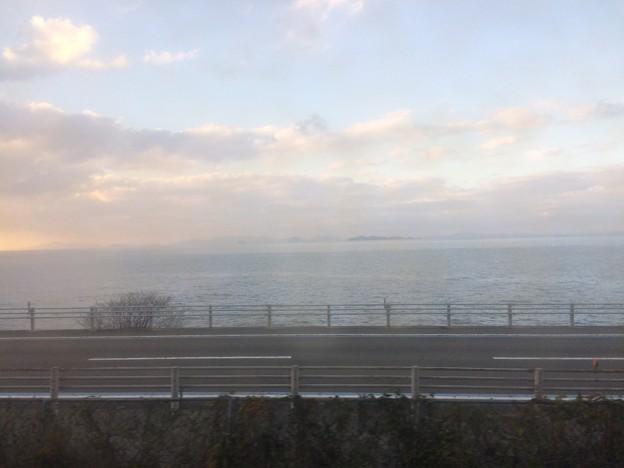 伊予灘の車窓風景5