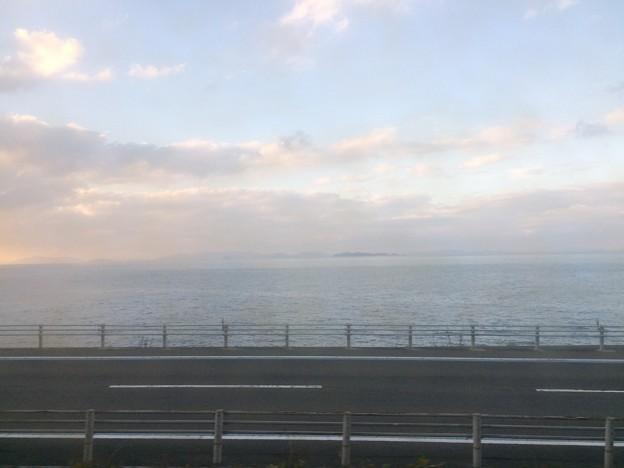 伊予灘の車窓風景6