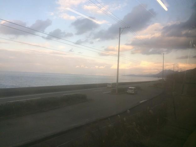 伊予灘の車窓風景7