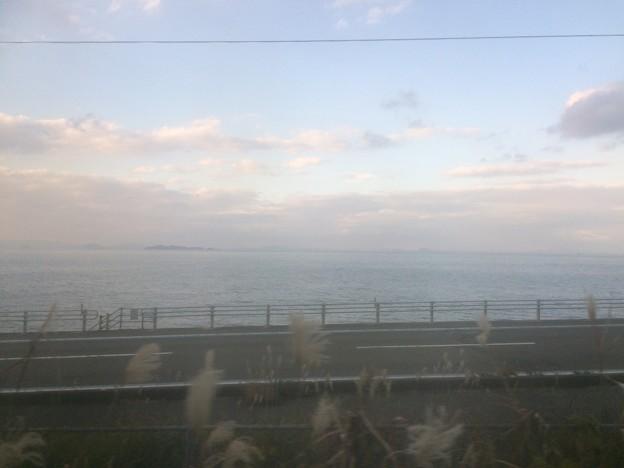 伊予灘の車窓風景9