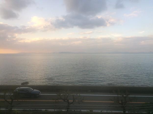伊予灘の車窓風景11