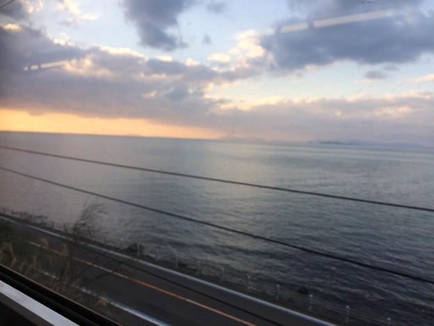 伊予灘の車窓風景12