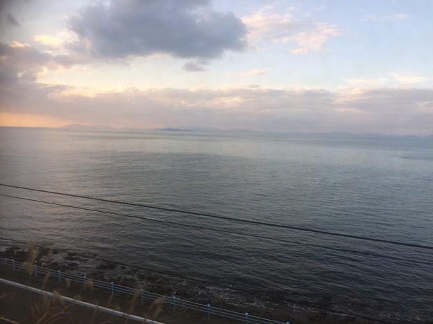 伊予灘の車窓風景13