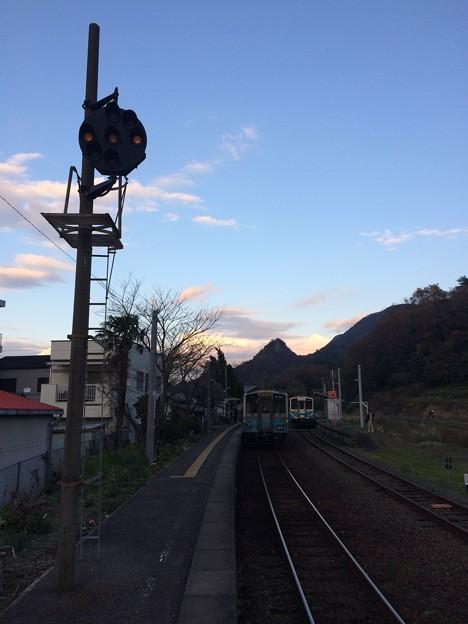 伊予上灘駅4