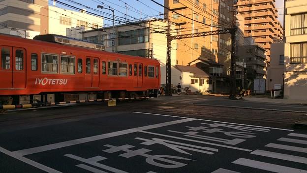 Photos: 伊予鉄ダイヤモンドクロス3
