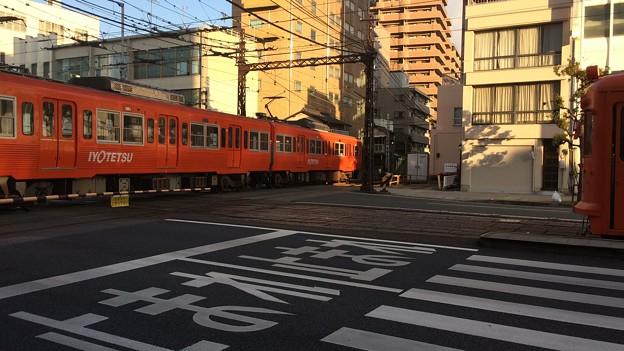 Photos: 伊予鉄ダイヤモンドクロス5